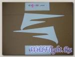 Наклейка декоративная JET4_125, JET4_50
