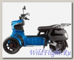 Электрический скутер Трицикл Doohan iTango HO-1200W Синий.