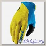 Перчатки THOR DRAFT INDI YELLOW/BLUE