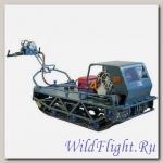 Мотобуксировщик Бумэр-XL с двигателем Lifan 188FD