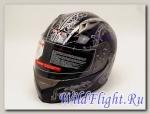 Шлем Vcan 158 интеграл black / vine-wz