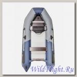 Лодка НАШИ ЛОДКИ PATRIOT 360 ТУРИСТ AL классика турист aluminium