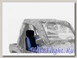 Чехол на сиденье Stels 800 Dominator черный/синий