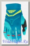 Перчатки Fly Racing EVOLUTION Dark Teal/Hi-Vis