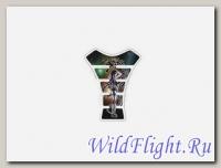 Накладка на бак GTS064 Дева 1 с драконом
