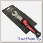 Ключ педальный, 15mm. длинный, с обрезиненной ручкой, для велосипедов KAGAMI