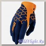 Перчатки THOR DRAFT COMB NAVY/ORANGE