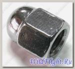 Гайка колпачковая, с фланцем 6х1.0мм, сталь LU030957