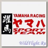Наклейка (6х12) Yamaha racing