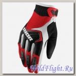 Перчатки THOR SPECTRUM RED/BLACK/WHITE