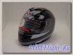 Шлем Vcan 121 интеграл Black/LLF