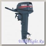 Двухтактный подвесной лодочный мотор Yamaha 25BWCS с предварительным смешиванием