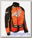 Куртка зимняя ATV/снегоход FLY RACING SNX PRO оранжевая/черная (2015)