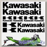 Комплект наклеек Crazy Iron KAWASAKI PACK