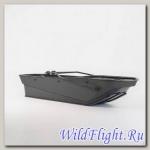 Сани волокуши Active без крыши (45 см) Цвет: черный,белый,серый,синий