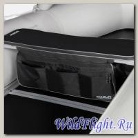 Накладка мягкая на сидение MARLIN (черная)+сумка рундук 420 (110 см)