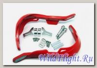 Защита рук (пара) HP03 красные армированные SM-PARTS