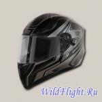 Шлем (интеграл) Origine STRADA Graviter титановый/чёрный матовый