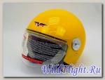 Шлем Vcan 522 открытый yellow