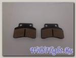 Колодки тормозные дискового тормоза Kymco, KeeWay (пара) (60x44x8)