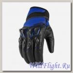 Перчатки ICON KONFLICT - BLUE