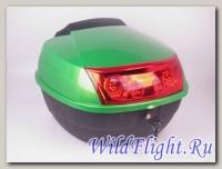 Кофр задний пластик 25 литров Х-1 зеленый