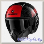 Шлем SHARK Street-Drak black red