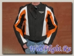 Куртка First Racing MACH II orange/wht/blk
