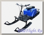 Мотобуксировщик ИжТехМаш Лидер-3-3Т-18.5-АП с модулем и реверсом