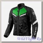 Куртка текстильная Revit GT-R Air. Black-Acid Green