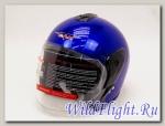 Шлем Vcan Max 617 открытый deep blue