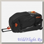 Сумка THOR TRANSIT WHEELIE BLACK/RED ORANGE BAG