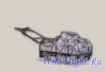 Мотобуксировщик BALTMOTORS SNOWDOG Standard S-R13M-WR