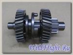Вилка механизма переключения передач (III), сталь LU059209