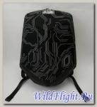 Рюкзак Diamond Backpack-Black Nylon with white lines