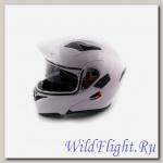 Шлем (модуляр) Ataki FF902 Solid белый глянцевый