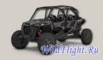 Спортивный мотовездеход Polaris RZR XP 4 TURBO S Titanium Matte (2019)