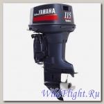 Двухтактный подвесной лодочный мотор Yamaha E115AETL Enduro