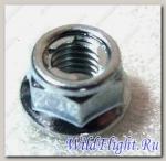 Гайка самоконтрящаяся М6х1,0 мм, сталь LU013754