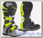 Детские кроссовые мотоботы FORMA COUGAR GREY/WHITE/YELLOWFLUO