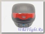 Кофр YM-0808 Black красный отражатель