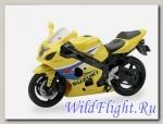 Модель мотоцикла GSX R600 1:18 Suzuki