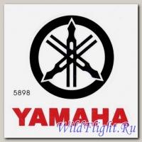 Наклейка эмблема Yamaha (12х12)