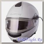 Шлем LS2 FF325 STROBE ELECTRIC SNOW GLOSS WHITE