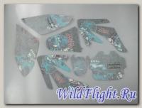 Наклейки на пластик (комплект) KAYO CFR METAL MULISHA
