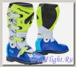 Кросс мотоботы FORMA TERRAIN TX YELLOWFLUO/WHITE/BLUE