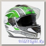 Шлем GSB G-350 Green/White