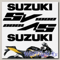 Комплект наклеек Crazy Iron SUZUKI SV1000