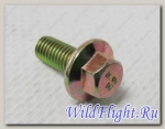 Болт с фланцем M5х0.8х12мм, сталь LU014564