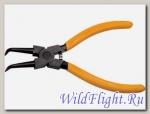 Съемник для внутренних стопорных колец изогнутые губки 150мм SPARTA (сжим)